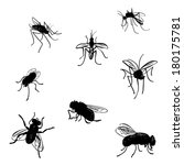 vector collection of various... | Shutterstock .eps vector #180175781