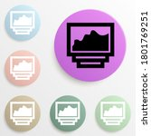 list of photos badge color set. ...