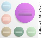 align center badge color set....