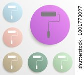 paint roller badge color set....
