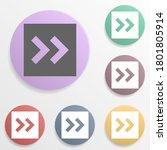 arrow  forward badge color set...