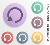 arrow  refresh badge color set...