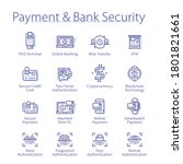 payment   bank security concept....   Shutterstock .eps vector #1801821661