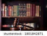 Legal System Concept. Law And...