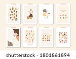 autumn mood greeting card... | Shutterstock .eps vector #1801861894