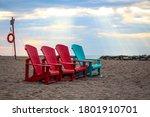 Bright Muskoka Chairs On The...