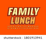 vector sign family lunch for... | Shutterstock .eps vector #1801913941