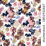 seamless flower pattern  floral ... | Shutterstock .eps vector #1801932667