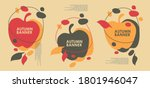 Autumn Sales Banner Design With ...