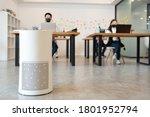 Air Purifier In Modern Office...