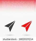 airplane vector icon. lorem...   Shutterstock .eps vector #1802019214