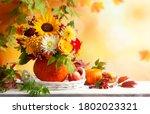 Autumn Bouquet Of Beautiful...