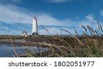 Grotta Lighthouse On Coast Of...