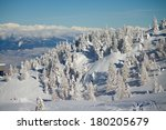View Of Dolomites Snowy