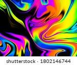 Iridescent Psychedelic Swirl...