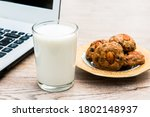 A Glass Of Milk And Cookies...