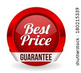 red best price button with... | Shutterstock .eps vector #180215339