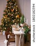 Christmas Or New Year Festive...