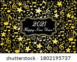 2020 happy new year greeting...   Shutterstock .eps vector #1802195737