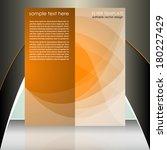 professional business flyer... | Shutterstock .eps vector #180227429