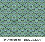 pine wave pattern. japanese... | Shutterstock .eps vector #1802283307