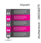 modern design template  can be... | Shutterstock .eps vector #180236075