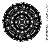 circular pattern in form of... | Shutterstock . vector #1802476714