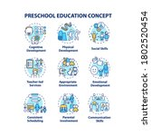 preschool education concept... | Shutterstock .eps vector #1802520454