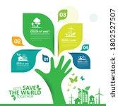 ecology.green cities help the... | Shutterstock .eps vector #1802527507