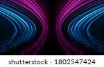 Light Neon Effect  Energy Waves ...