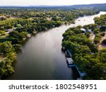 Summer Time Above Lake Lbj In...