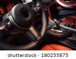 modern car interior | Shutterstock . vector #180255875
