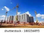 construction of the new... | Shutterstock . vector #180256895