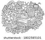 cinema hand drawn cartoon... | Shutterstock .eps vector #1802585101