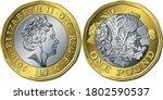 Vector British Money Coin One...