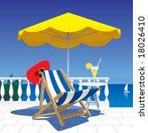 vector image of the white... | Shutterstock .eps vector #18026410