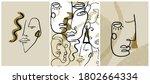 set of creative templates in...   Shutterstock .eps vector #1802664334