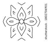 circular pattern in form of... | Shutterstock . vector #1802706901