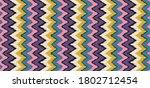 ikat border. geometric folk...   Shutterstock .eps vector #1802712454