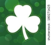 st patrick's day card  poster... | Shutterstock .eps vector #180271625