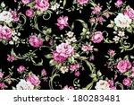 rose fabric background ... | Shutterstock . vector #180283481