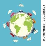 vehicles design design vector... | Shutterstock .eps vector #180285635
