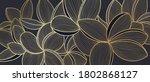 golden frangipani botanical...   Shutterstock .eps vector #1802868127