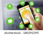 smart house device illustration ... | Shutterstock . vector #180292295