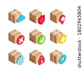 isometric delivery services box ...