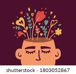 mental health  psychology... | Shutterstock .eps vector #1803052867