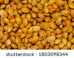 Apricot Seeds Background....