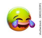 Emoji Laughing In Tears  With A ...