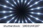 3d Render Of Fractal Rays With...