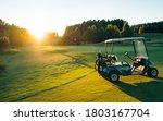 Golf Cart Or Golf Club Cars In...